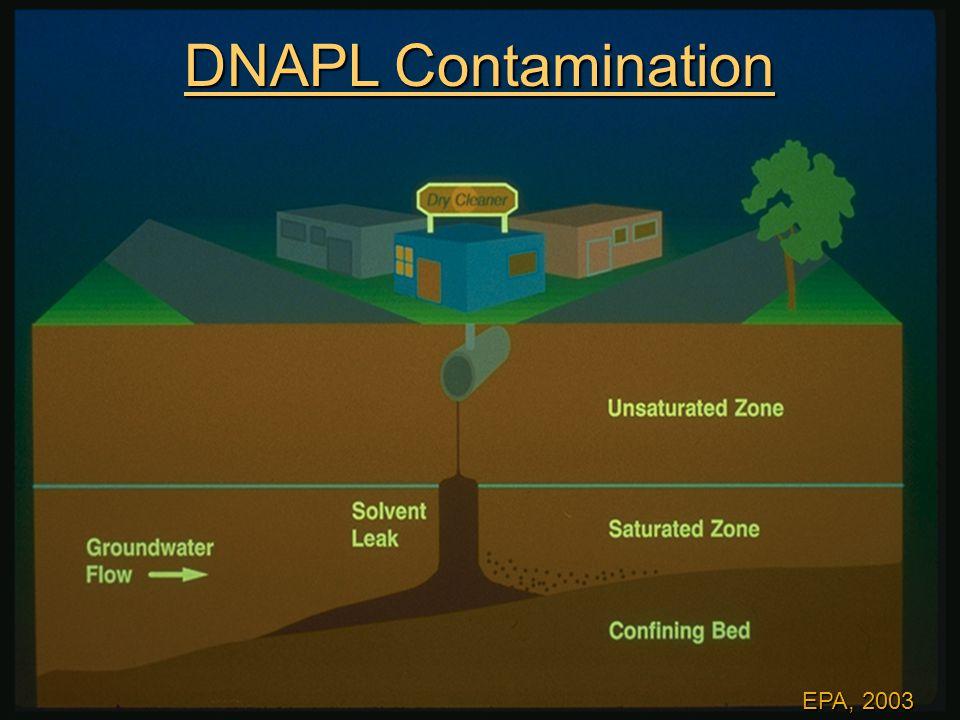 EPA, 2003 DNAPL Contamination