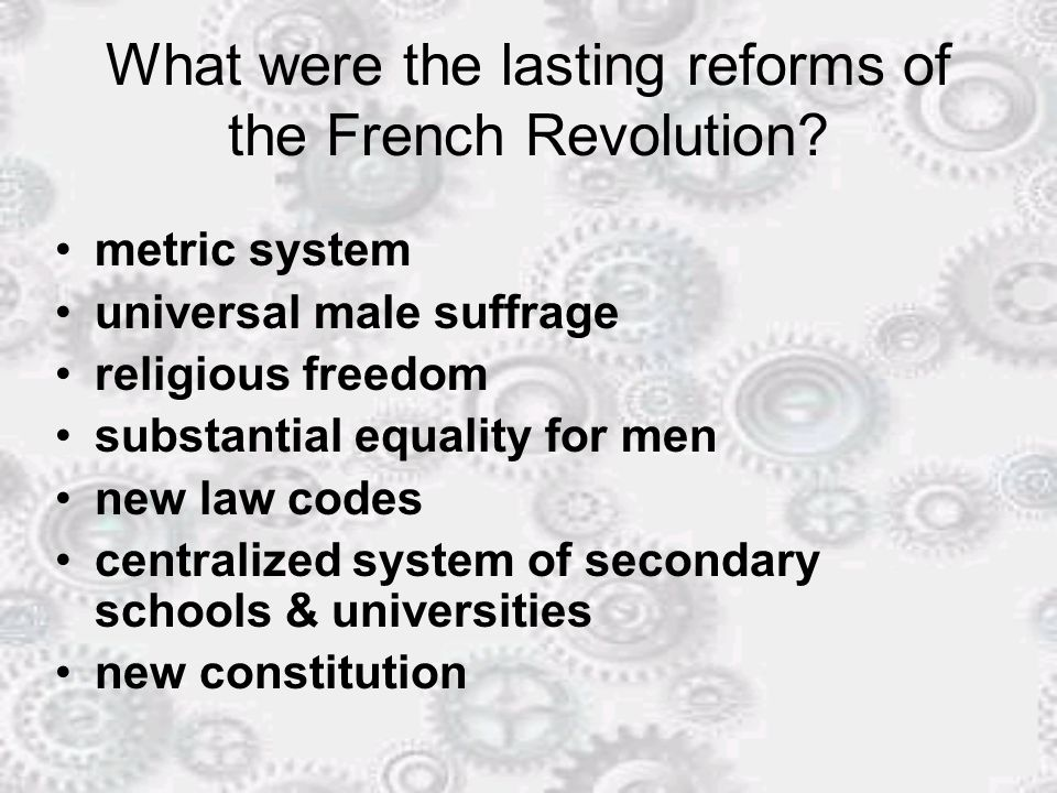What new political movements emerged in the aftermath of the French Revolution.