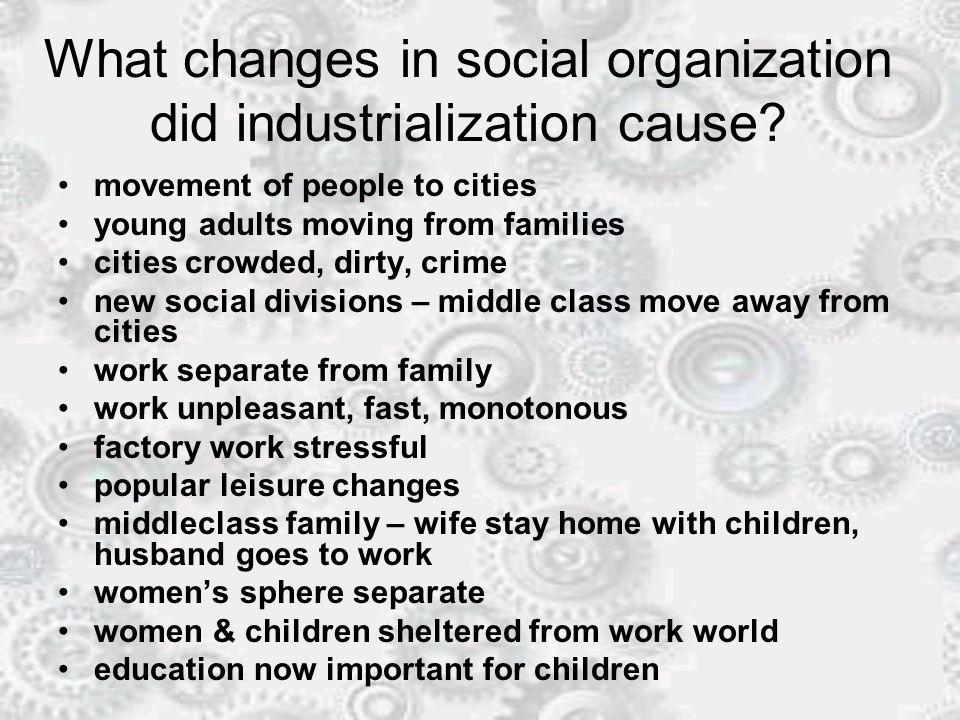 How were industrialization & revolution linked.