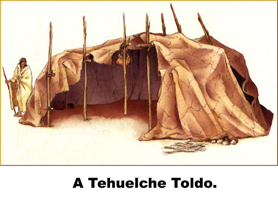 A Tehuelche Toldo.