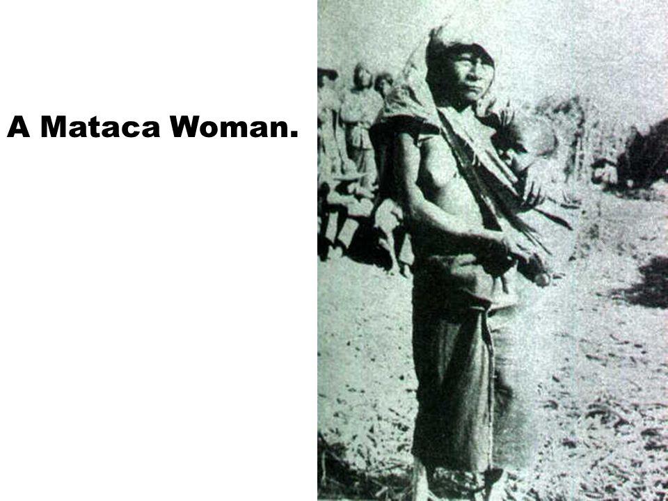 A Mataca Woman.