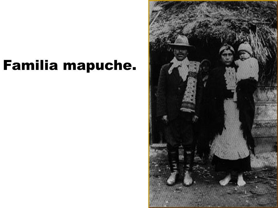 Familia mapuche.