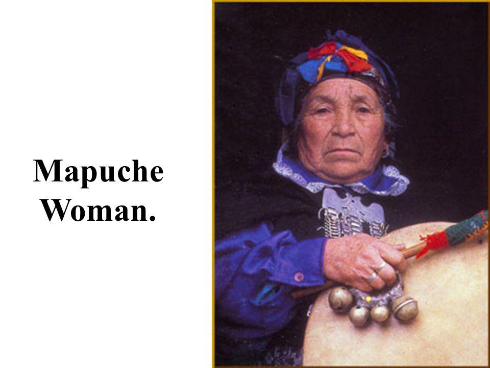 Mapuche Woman.