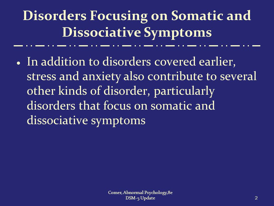 What Causes Conversion and Somatic Symptom Disorders.