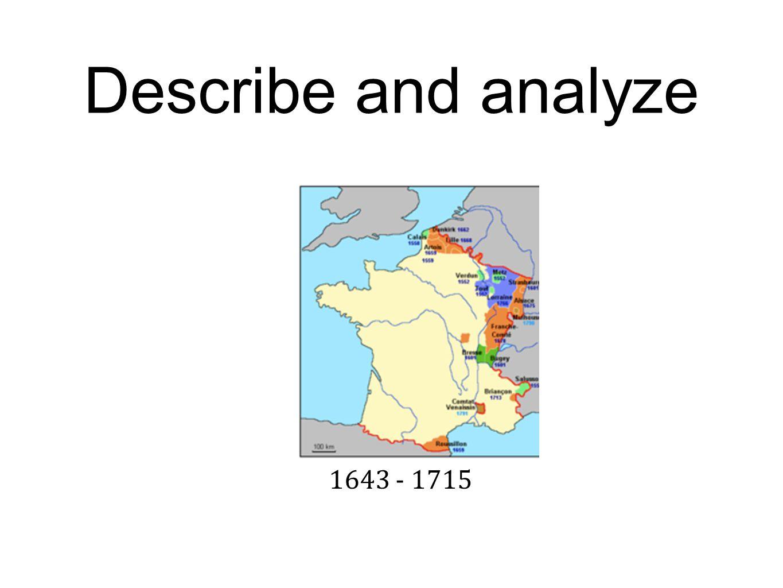 1643 - 1715