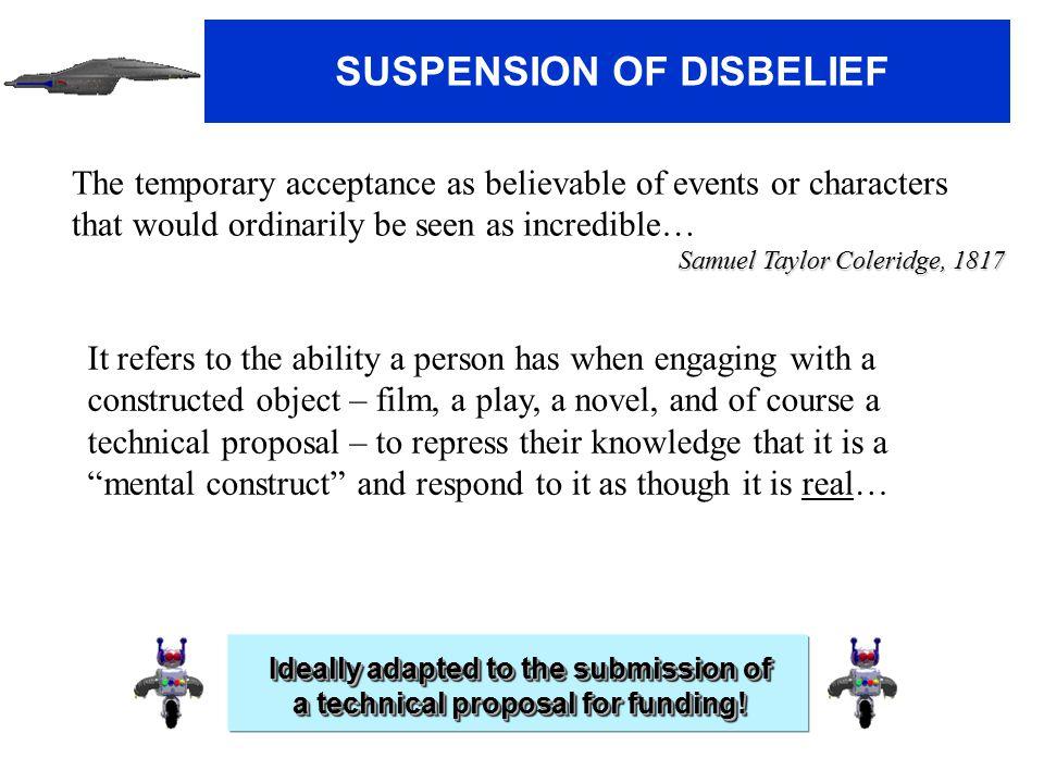 Cerfacs Anniversary SUSPENSION OF DISBELIEF (2) How do we create this suspension of disbelief .