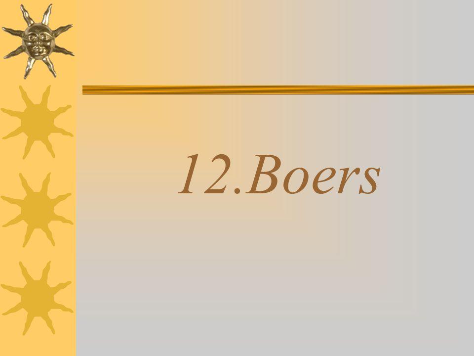 12.Boers