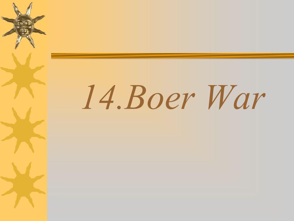 14.Boer War