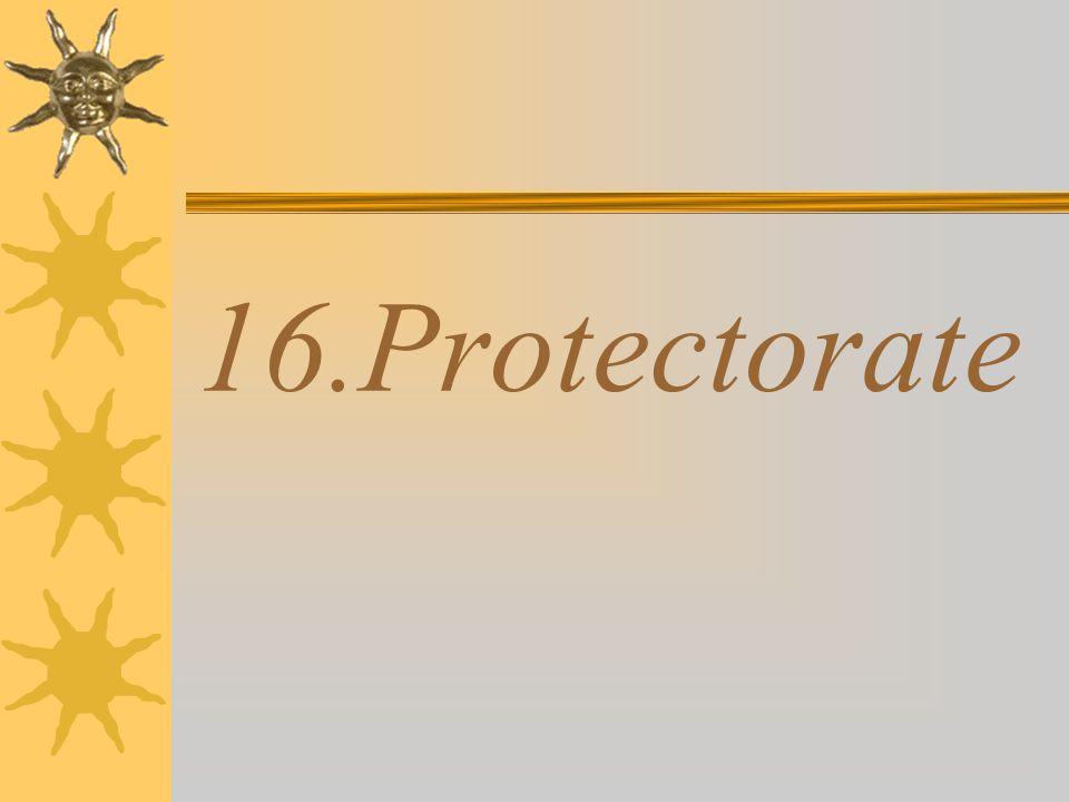 16.Protectorate