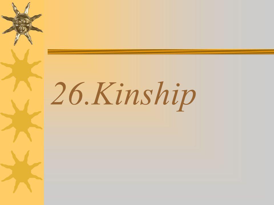 26.Kinship