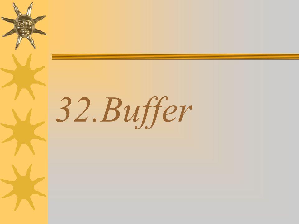 32.Buffer