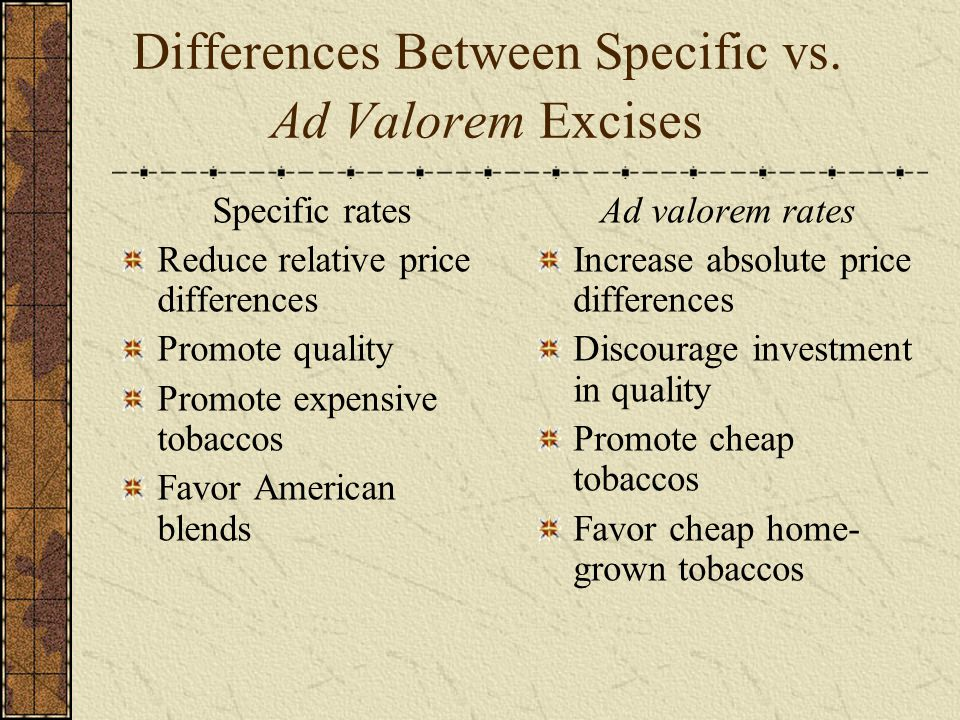 Differences Between Specific vs.
