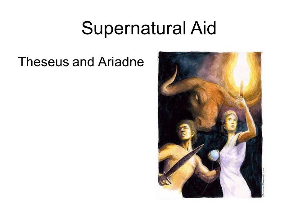 Supernatural Aid Theseus and Ariadne