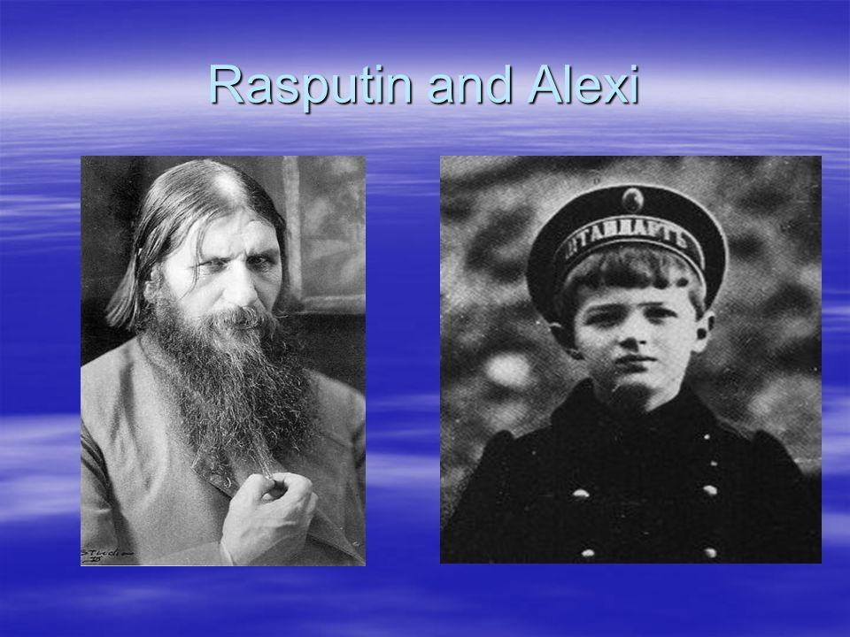 Rasputin and Alexi