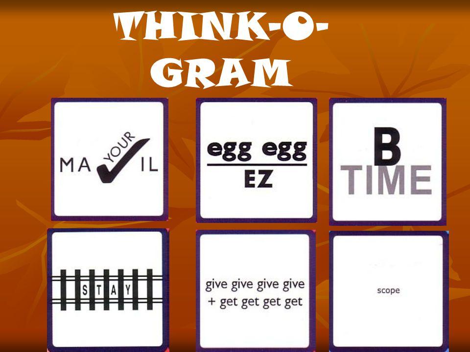 THINK-O- GRAM