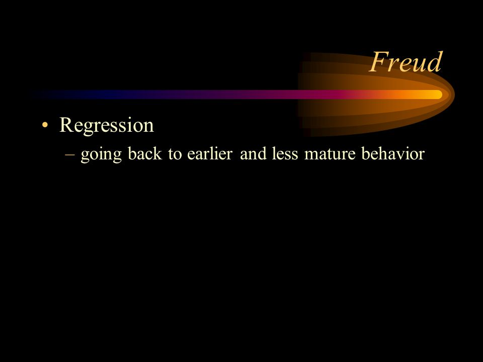 Freud Reaction Formation –replacing the unacceptable feeling or urge with opposite
