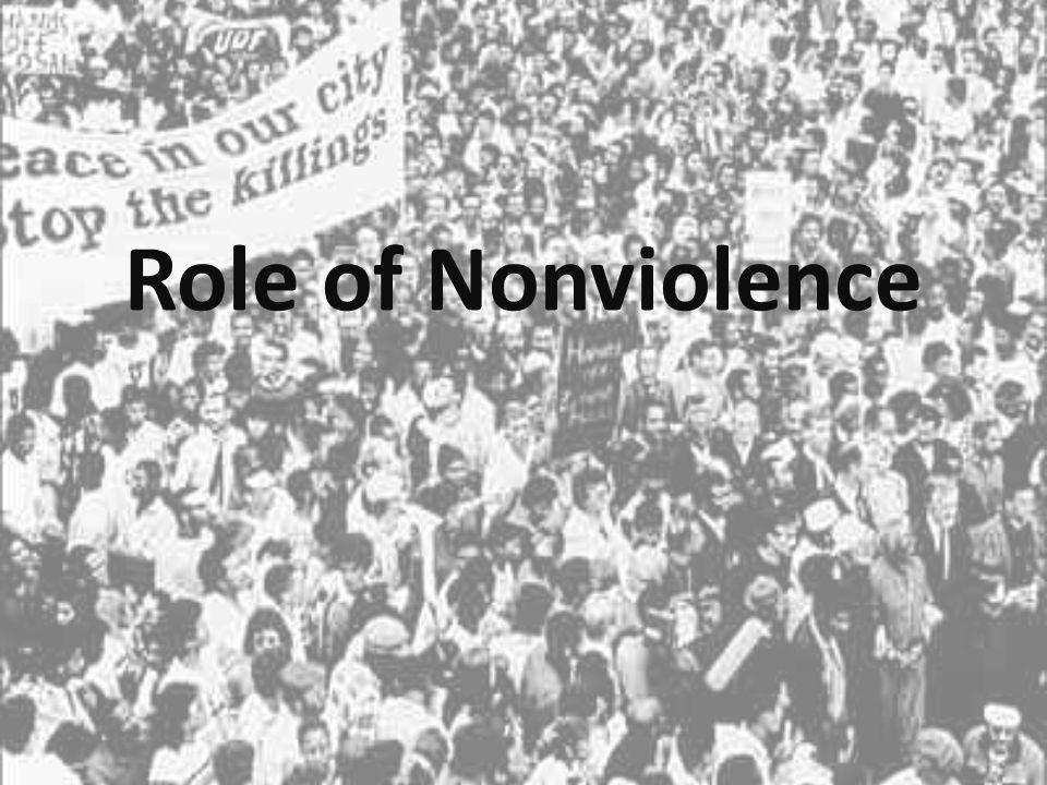 Role of Nonviolence
