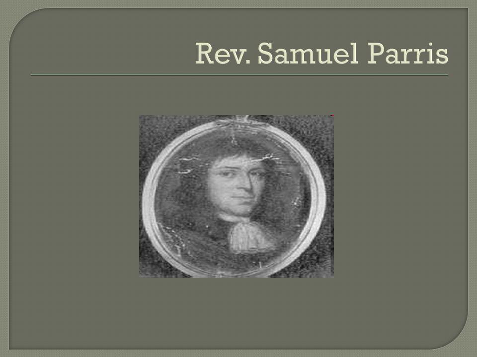 Rev. Samuel Parris