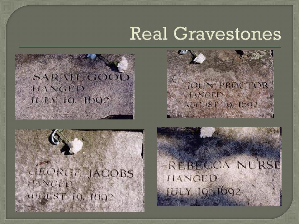 Real Gravestones