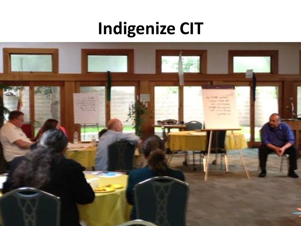 Indigenize CIT