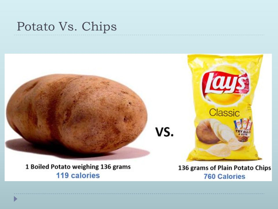 Potato Vs. Chips