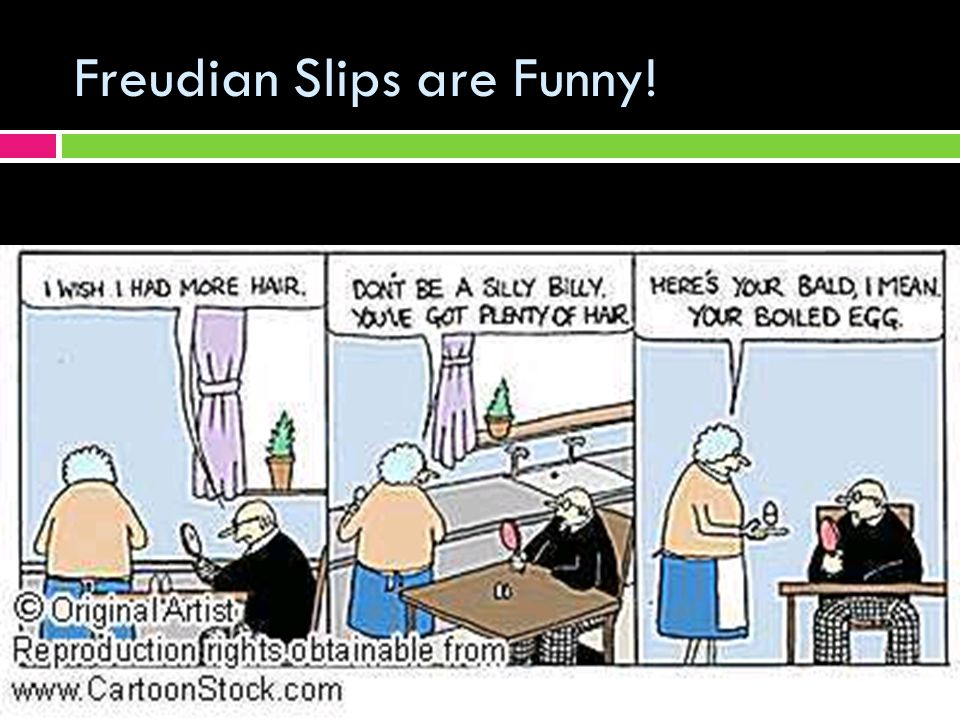Freudian Slips are Funny!