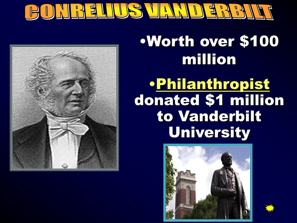 Philanthropist Gave millions of his money to hospitals and colleges.Gave millions of his money to hospitals and colleges. University of ChicagoUnivers