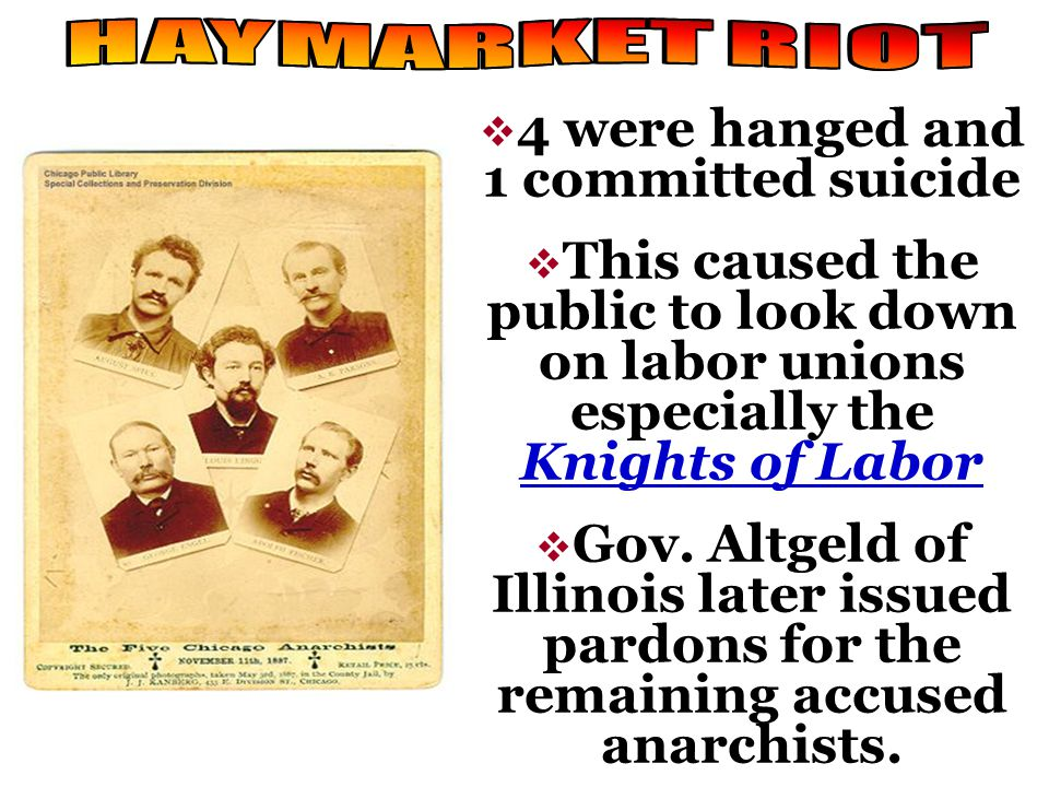 May 3, 1886, joining a nation wide strike for an 8 work day Chicago workers protested against the McCormick Reaper plant. May 3, 1886, joining a natio