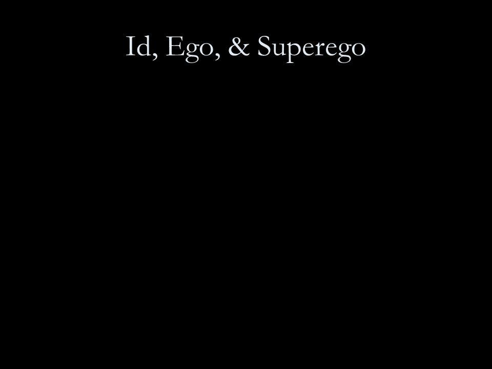 Id, Ego, & Superego
