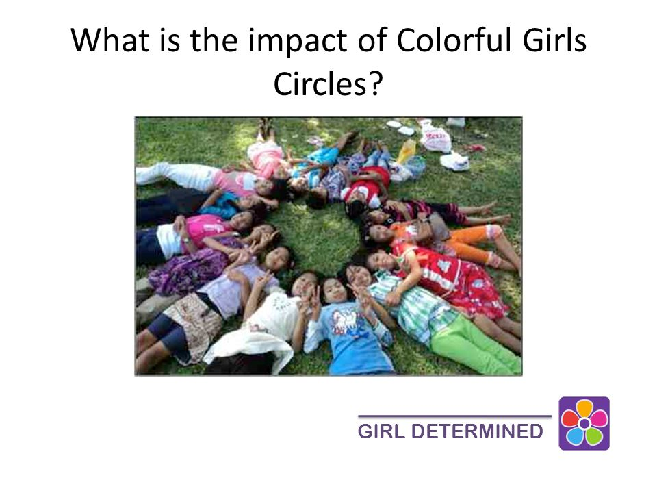 What is the impact of Colorful Girls Circles GIRL DETERMINED