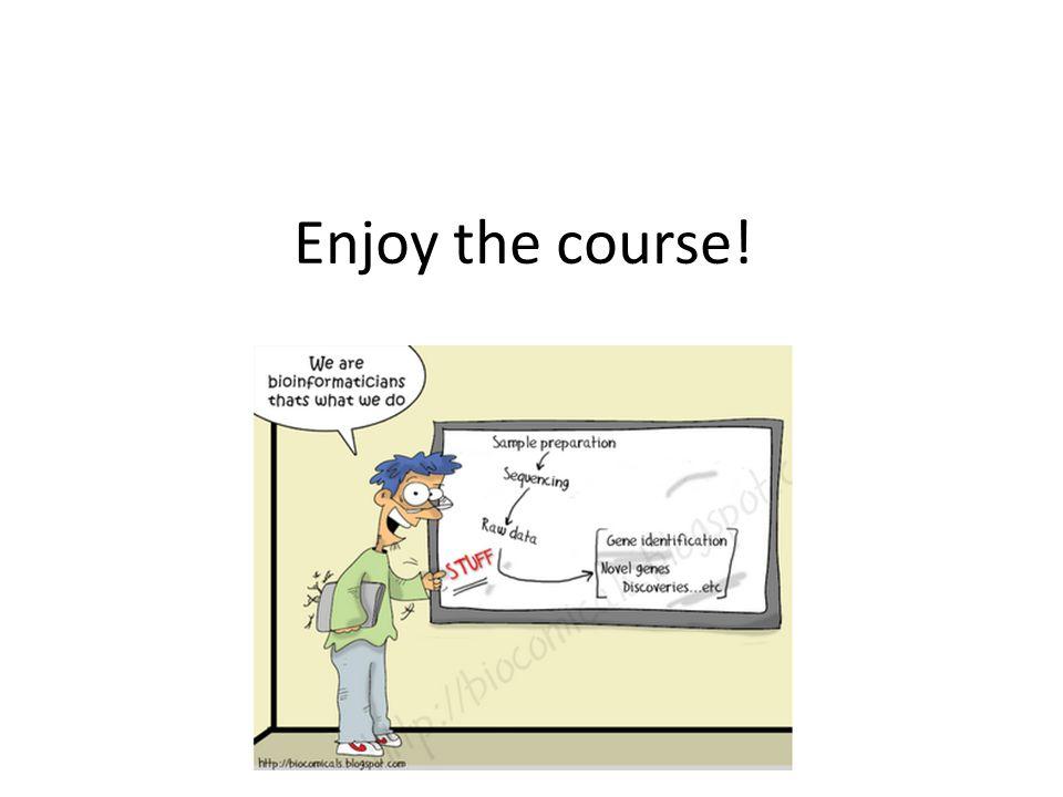 Enjoy the course!