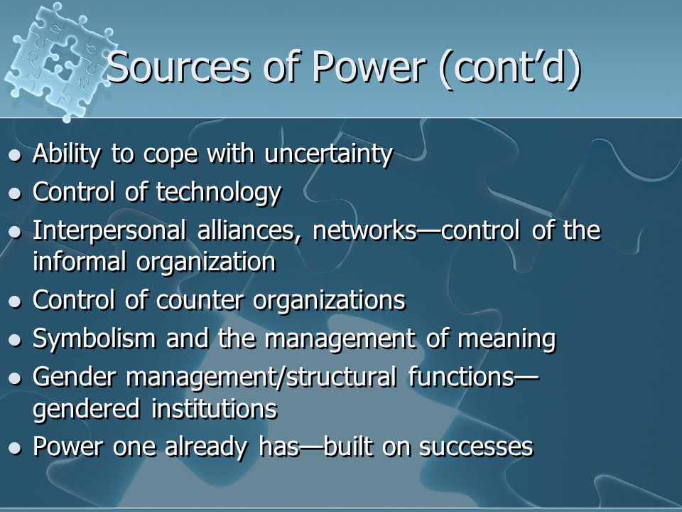 Critical Studies of Power and Control Seek to understand how: power and ideology are entwined social, economic and political structures determine power dominated groups consent to their own exploitation organizations can become more humanistic and democratic Seek to understand how: power and ideology are entwined social, economic and political structures determine power dominated groups consent to their own exploitation organizations can become more humanistic and democratic