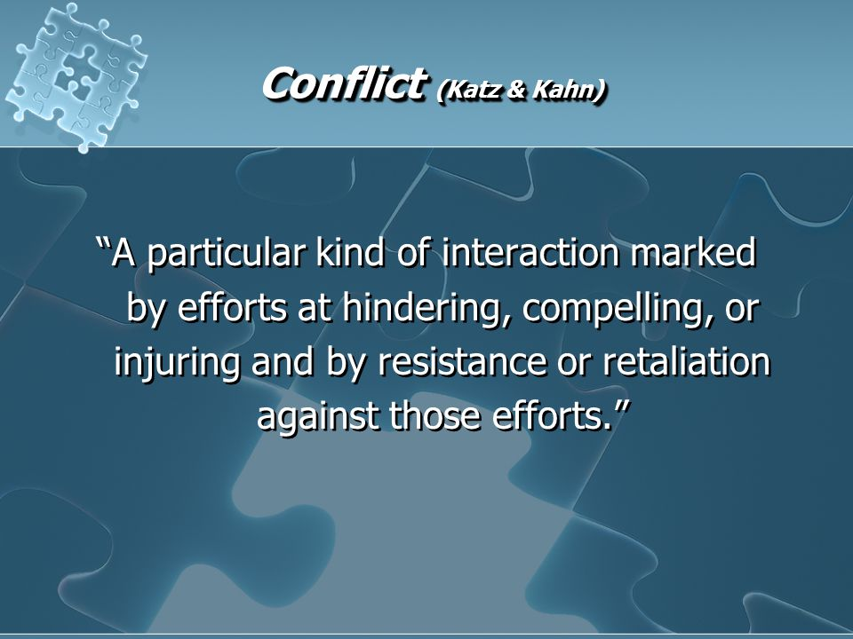 Ways to Stimulate Conflict Acknowledge repressed conflict Role model functional conflict through open disagreement & collaborative responses Alter established communication channels Hold back information Overcommunicate Deliver deliberately ambiguous messages Differentiate activities or outcomes among subordinates Challenge the existing power structure Acknowledge repressed conflict Role model functional conflict through open disagreement & collaborative responses Alter established communication channels Hold back information Overcommunicate Deliver deliberately ambiguous messages Differentiate activities or outcomes among subordinates Challenge the existing power structure