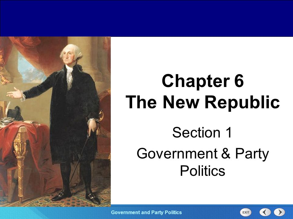 Chapter 25 Section 1 The Cold War Begins Section 1 Government and Party Politics Most southern states had already paid off their war debts.
