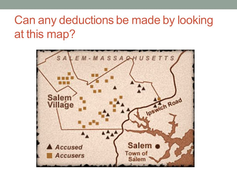 Can any deductions be made by looking at this map?