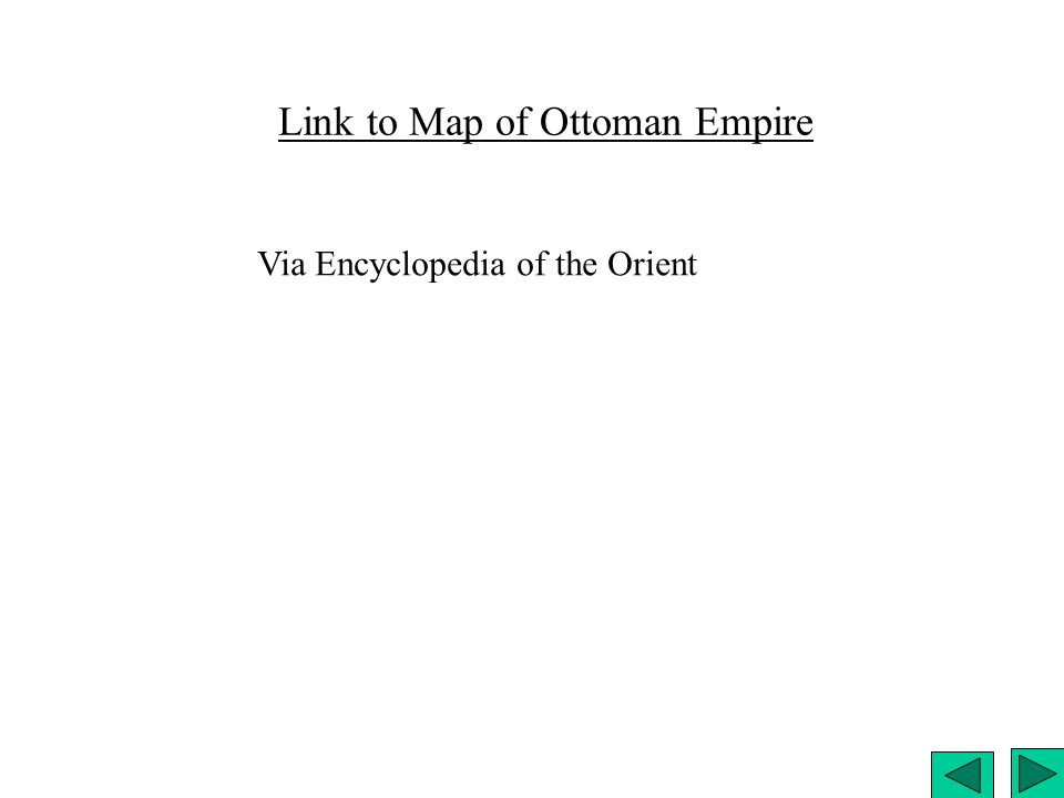 Link to Map of Ottoman Empire Via Encyclopedia of the Orient
