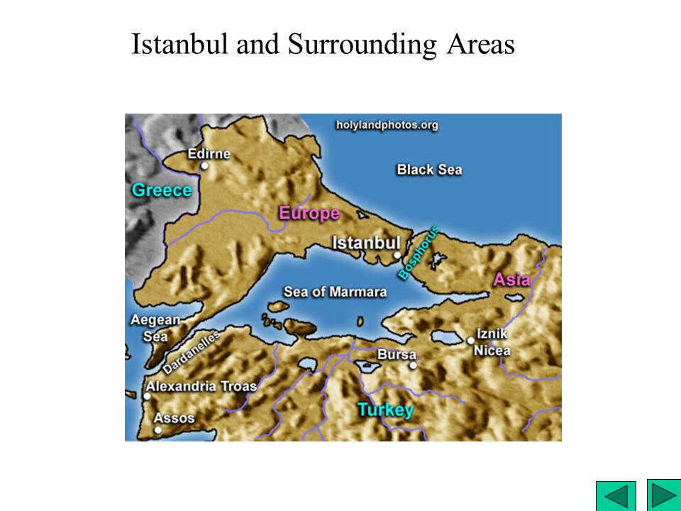 Istanbul and Surrounding Areas