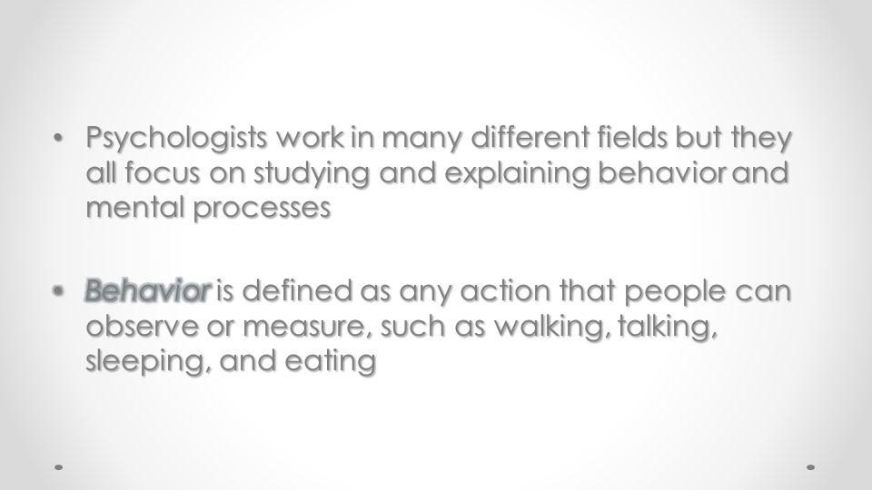 4. Behavioral