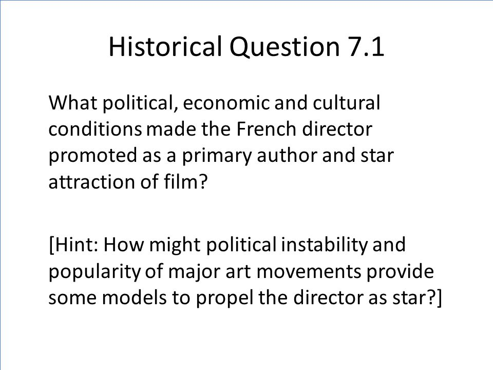 French Film Reacts to Pre-WWII Politics (Spanish Civil War) Later, Popular Front party won elections, then once in power, they dissolved under great dissent Replaced by a Radical Socialist party (not more left, but more conservative despite 'radical' label) who was seen as more responsive to the economic situation and more supportive of the Republicanists of Spain in the Spanish Civil War.