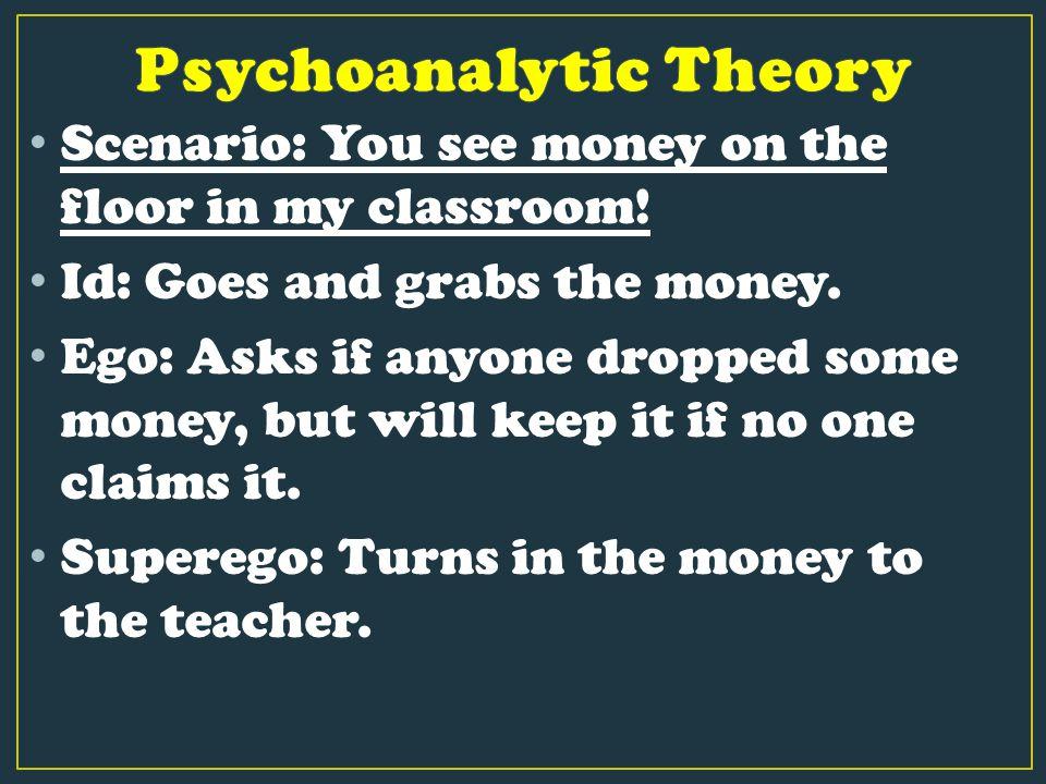 Scenario: You see money on the floor in my classroom.