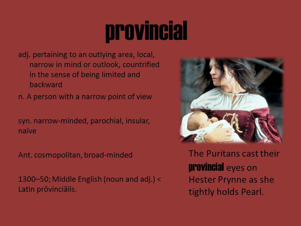 provincial adj.