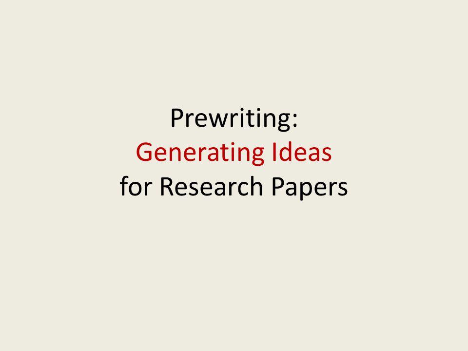 Writing is a Recursive Process PrewritingDraftingRevisingEditing