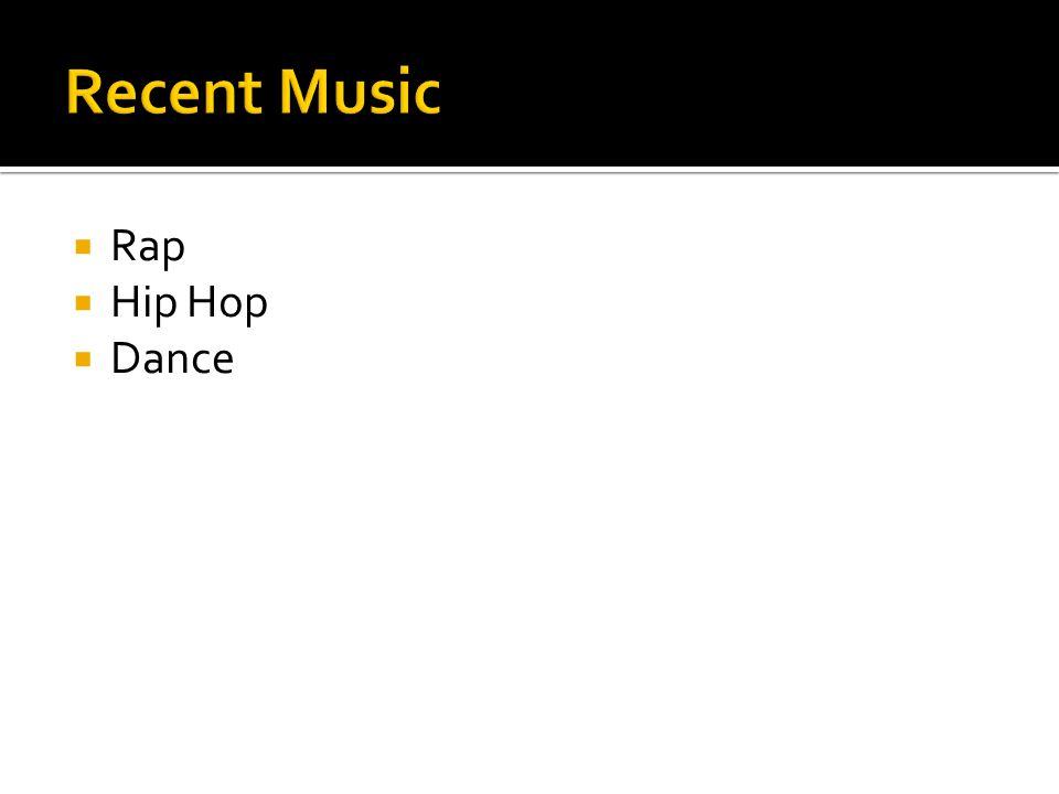  Rap  Hip Hop  Dance