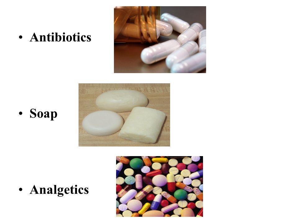 Antibiotics Soap Analgetics