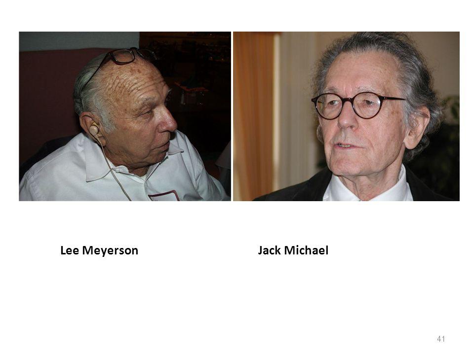 Lee Meyerson Jack Michael 41