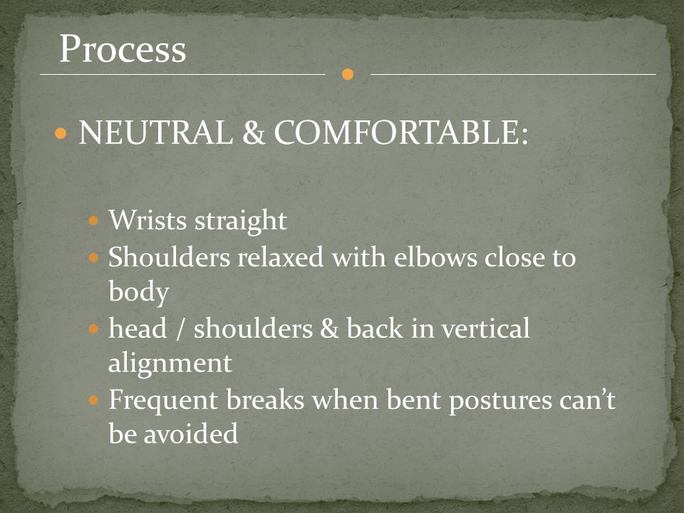 Posture Sitting The posture for sitting is one of the main criterions that leads to back pain.