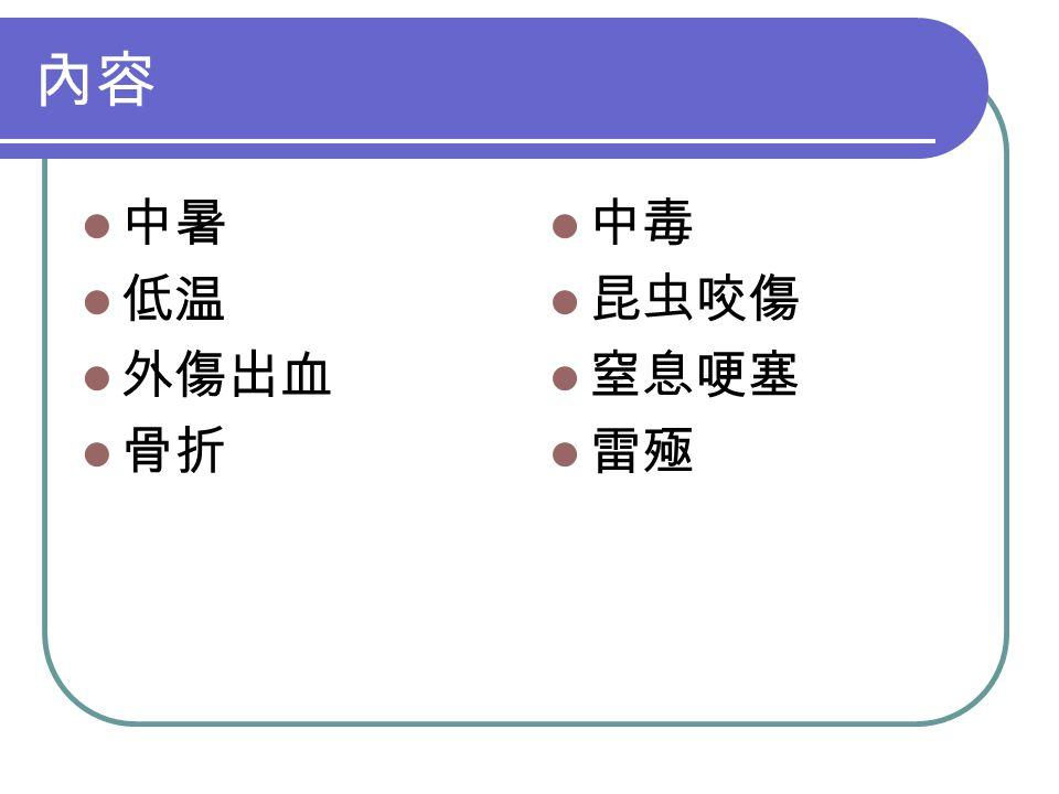 急救 鼓勵咳嗽 推腹法 (6 -10 次 ) 不省人事 食指清理气道