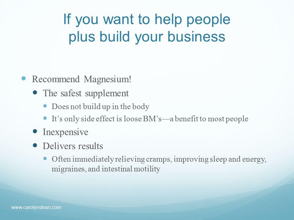 Print books and eBooks Telephone Wellness Consultations www.carolyndean.com