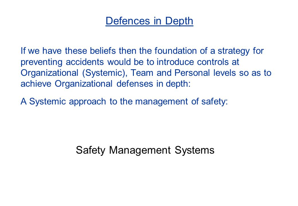 The formal goals of an SMS are as follows: To produce fully airworthy aircraft, in a safe working environment, that are subsequently operated safely To ensure and demonstrate that safety is being managed as formally as any other critical business function To ensure and demonstrate that the Organization is 'responsible' and exercising 'due care' (the counter to offence of 'Corporate Killing') But what is the bottom line?