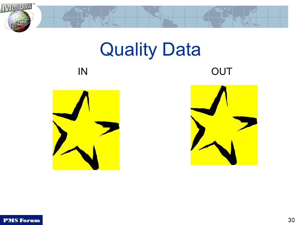 PMS Forum 30 Quality Data INOUT